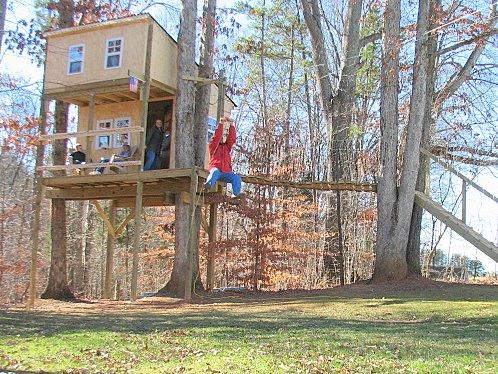Tree Houses & Zip Lines - Backyard Zipline Questions