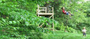 One Way to Build a Zip Line in Your Backyard - Backyard ...